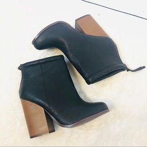 Torrid Vazan stacked heel booties 10W